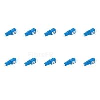 Image de Atténuateur à Fibre Optique Fixe Monomode LC/UPC, Mâle-Femelle, 10dB (10pcs/Paquet)