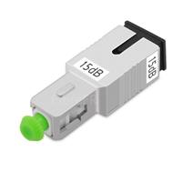 Image de Atténuateur à Fibre Optique Fixe Monomode SC/APC, Mâle-Femelle, 15dB