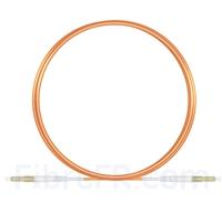 Image de 3m LC UPC vers LC UPC Simplex 2,0mm PVC (OFNR) OM1 Jarretière Optique Multimode