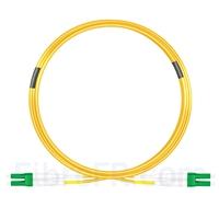 Image de 10m LC APC vers LC APC Duplex 3,0mm PVC (OFNR) 9/125 Jarretière Optique Monomode