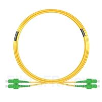 Image de 7m SC APC vers SC APC Duplex 3,0mm PVC (OFNR) 9/125 Jarretière Optique Monomode