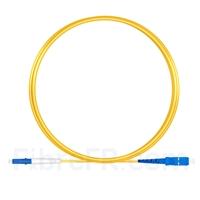 Image de 2m LC UPC vers SC UPC Simplex 2,0mm PVC (OFNR) OS2 Jarretière Optique Monomode