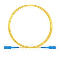 Image de 3m SC UPC vers SC UPC Simplex 2,0mm PVC (OFNR) OS2 Jarretière Optique Monomode