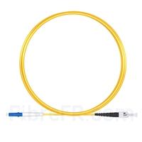 Image de 3m LC UPC vers ST UPC Simplex 2,0mm PVC (OFNR) OS2 Jarretière Optique Monomode