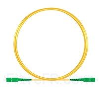Image de 3m SC APC vers SC APC Simplex 2,0mm PVC (OFNR) OS2 Jarretière Optique Monomode