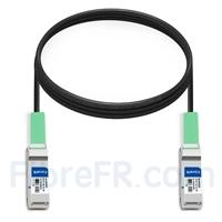 Image de 3m Arista Networks CAB-Q-Q-100G-3M Compatible Câble à Attache Directe Twinax en Cuivre Passif 100G QSFP28