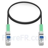 Image de 1m Alcatel-Lucent QSFP-40G-C1M Compatible Câble à Attache Directe en Cuivre Passif 40G QSFP+