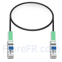 Image de 0,5m Extreme Networks 40GB-C0,5-QSFP Compatible Câble à Attache Directe en Cuivre Passif 40G QSFP+
