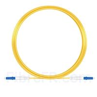 Image de 15M(49ft)1550nm LC UPC Simplex Axe Lent PVC-3.0mm Monomode (OFNR) 3,0 mm Polarisation Maintenant le Câble de Raccordement à Fibre Optique