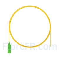 Image de 2m Pigtail à Fibre Optique SC APC Simplex OS2 Monomode PVC (OFNR) 0,9mm