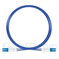 Image de 10m Câble Armé Acier LC UPC vers LC UPC Duplex OS2 Monomode PVC (OFNR) 3,0mm