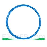 Image de 5m Câble Armé Acier SC APC vers SC APC Simplex OS2 Monomode PVC (OFNR) 3,0mm