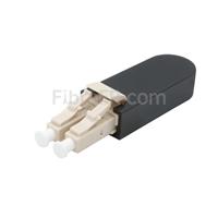 Image de Module Loopback à Fibre Optique Multimode LC/UPC Duplex PVC OM4 50/125