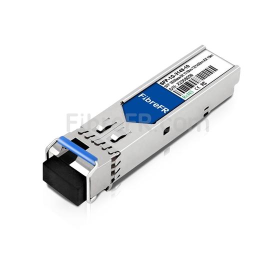 Image de Accedian 7ST-000 Compatible 1000Base-BX SFP Module Optique 1310nm-TX/1490nm-RX 10km SMF(LC Single) DOM