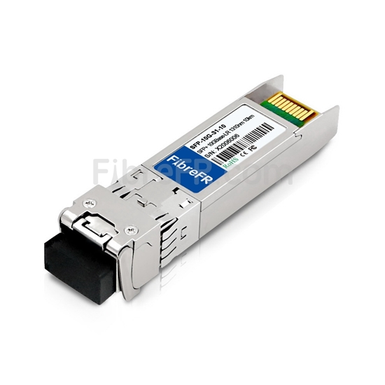 Image de A10 Networks AXSK-SFP+LR Compatible 10GBase-LR SFP+ Module Optique 1310nm 10km SMF(LC Duplex) DOM