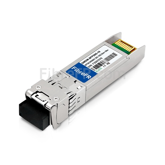 Image de Arista Networks C31 SFP28-25G-DL-52.52 Compatible Module SFP28 25G DWDM 100GHz 1552.52nm 10km DOM