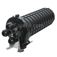 Image de Dôme Splitter PLC de Protection d'Épissures par Fusion à Fibre Optique, 96 Fibres GJS-M3JF , 4 Entrées