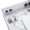Image de GFL-S-24D Boîtier de Terminaison Optique Extérieure de Splitter à Fibre Optique 1 x 24 comme Boîte de Distribution sans Pigtails ni Adaptateurs